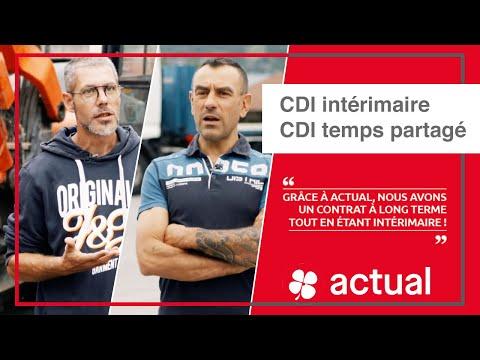 CDI Intérimaire et CDI Temps Partagé : témoignage de 2 intérimaires Actual