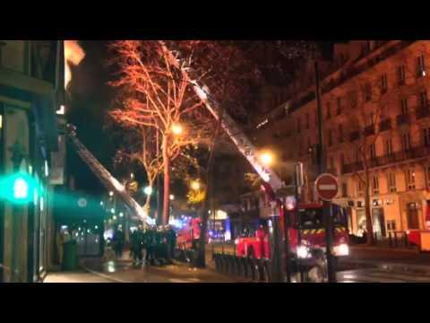Incendie Paris 20 Décembre 2013