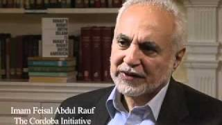Saqib Ul Islam with Imam Feisal Abdul Rauf of The Cordoba Initiative (English)