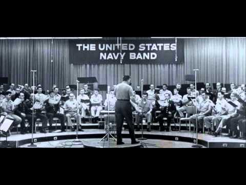 George Lynn Conducting the Armed Forces Choruses in Turn Ye To Me