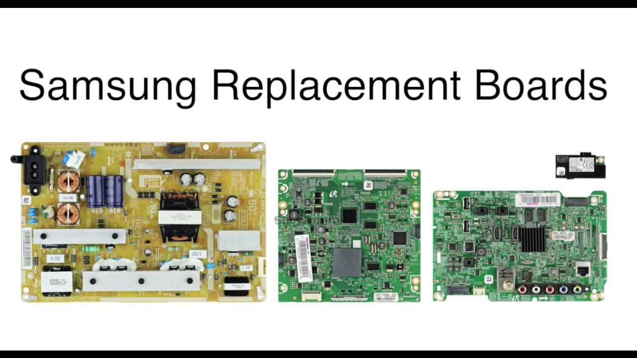 How to Replace All Boards in Samsung LED TV - Model UN60H6203A - Samsung TV  Support