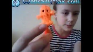 Видеоурок 3 Как плести привидение на станке