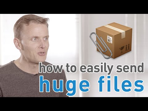 how to move large files on mac