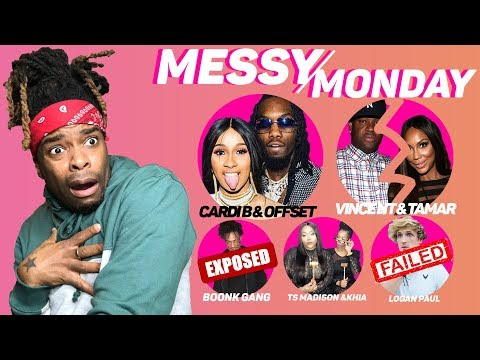DRAMA ALERT! Logan Paul, Chris & Queen, BoonkGang EXPOSED &MORE | MessyMonday