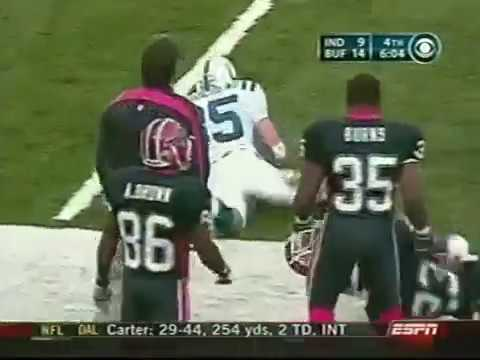 2003 Bills vs Colts Week 12 NFL Primetime Highlights