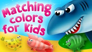 Matching Colors For Kids | Matching Games For Preschool And Kindergarten | Kids Academy