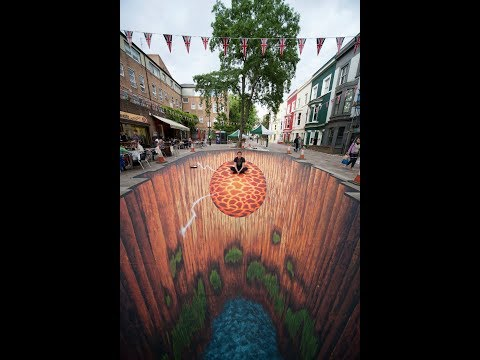 Best of 3D Street Art Illusion