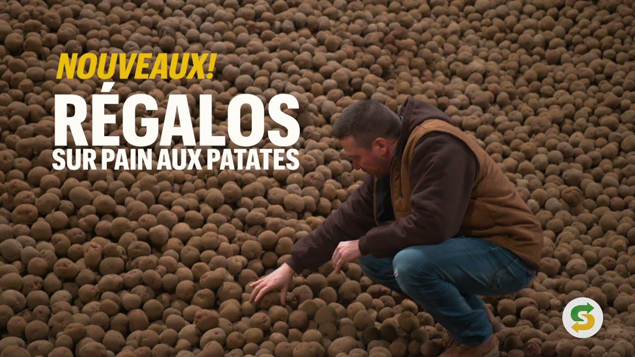 Des fermes canadiennes jusqu'à nos restaurants – voici les NOUVEAUX Régalos sur Pains aux Patates