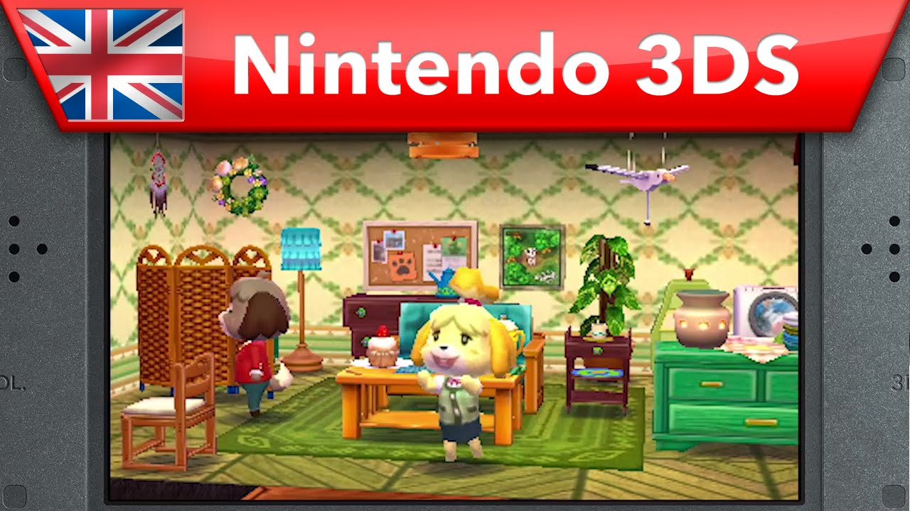 Animal Crossing: Happy Home Designer - E3 2015 Trailer (Nintendo 3DS) - YouTube