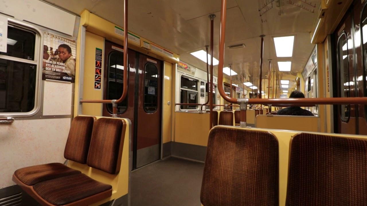 C14 Tunnelbana - T-Centralen & Kungsträdgården