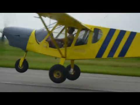 STOL CH 750 with Jabiru 3300 engine installation: First flight