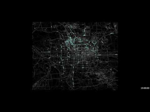 A Year in Beijing: GeoLife GPS Trajectories