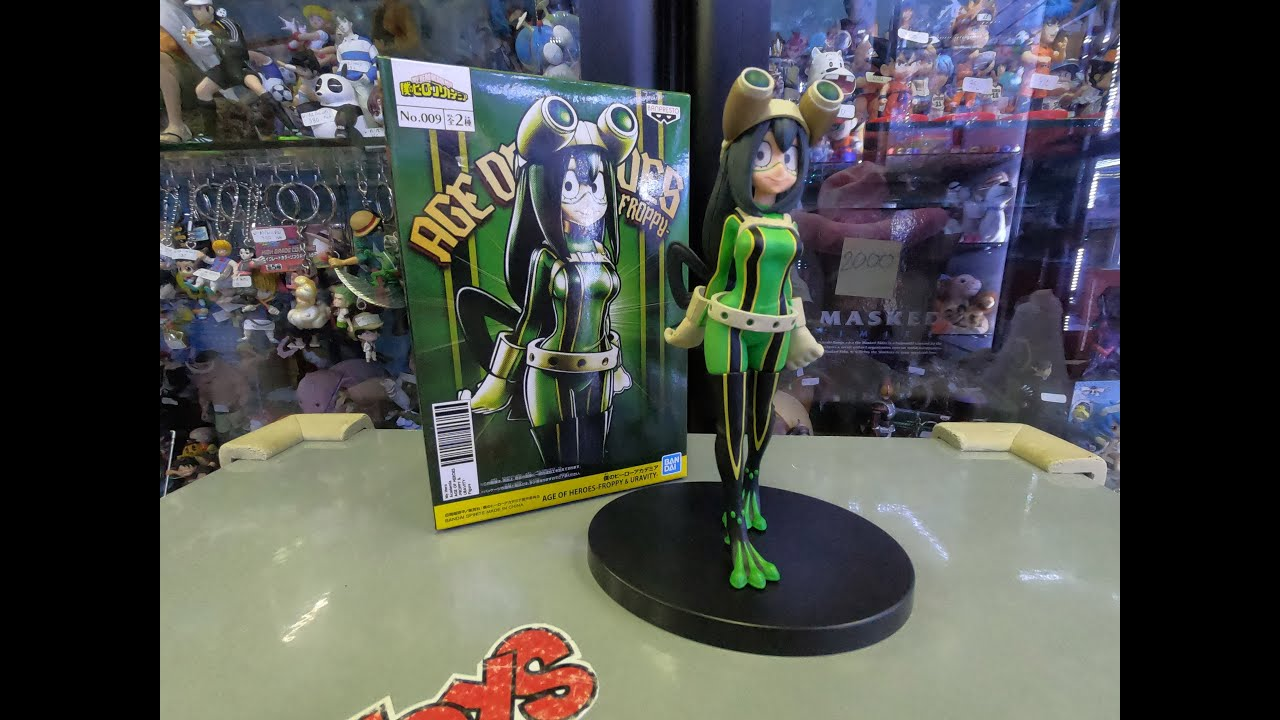 [Unboxing]&[Review] MY HERO ACADEMIA AGE OF HEROES - FROPPY TSUYU ASUI - #357