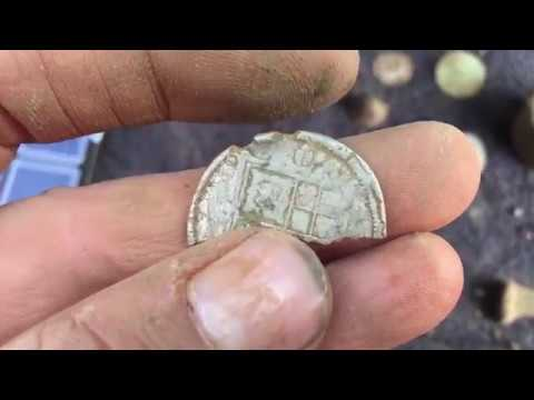 DOUBLE HEAD ROMAN coin found metal detecting uk 2018
