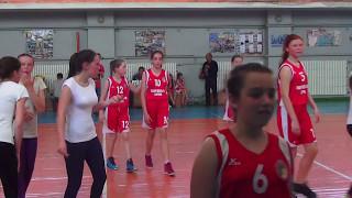 U-13 девочки Белозёрка - Верхний Рогачик (6 ч.) 6.05.2017
