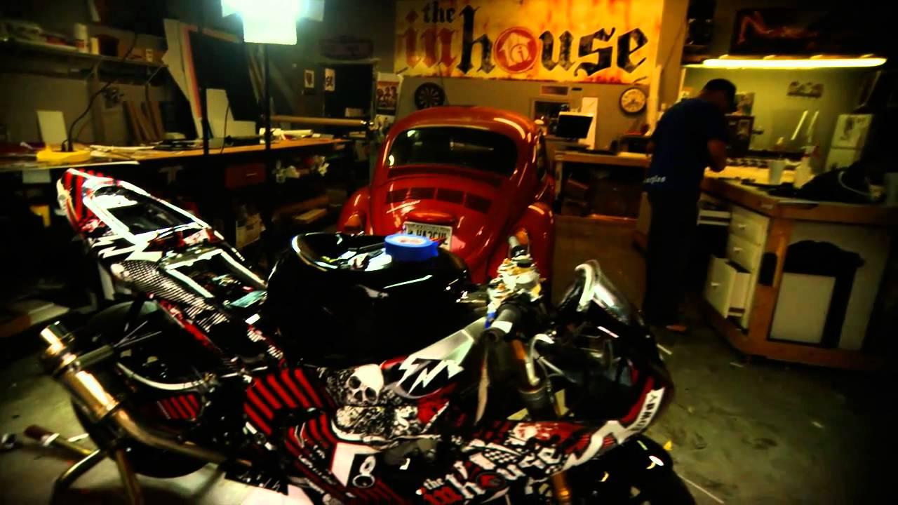 Rowdy Rodney Sargent Inhouse Bike Wrap For 2011 Youtube