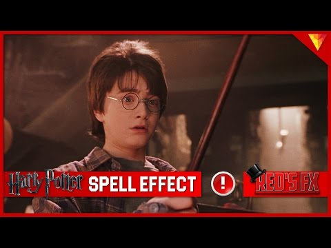 Harry Potter Spell Effect Hitfilm Express Tutorial | Red's Fx