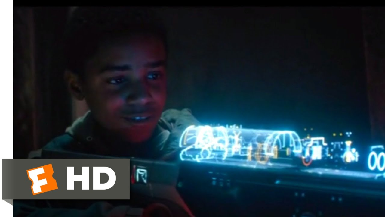 Download Kin (2018) - The Laser Gun Scene (1/10) | Movieclips