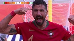 Portugal v Nigeria [Highlights] - FIFA Beach Soccer World Cup Paraguay 2019™