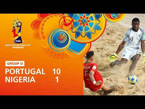 Portugal v Nigeria [Highlights] - FIFA Beach Soccer World Cup Paraguay 2019™