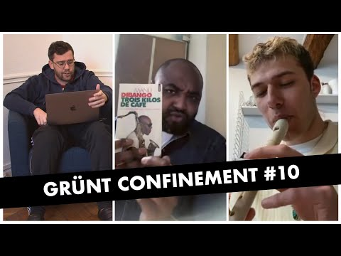 Youtube: Grünt Confinement #10 avec Nelick et Reza Pounewatchy
