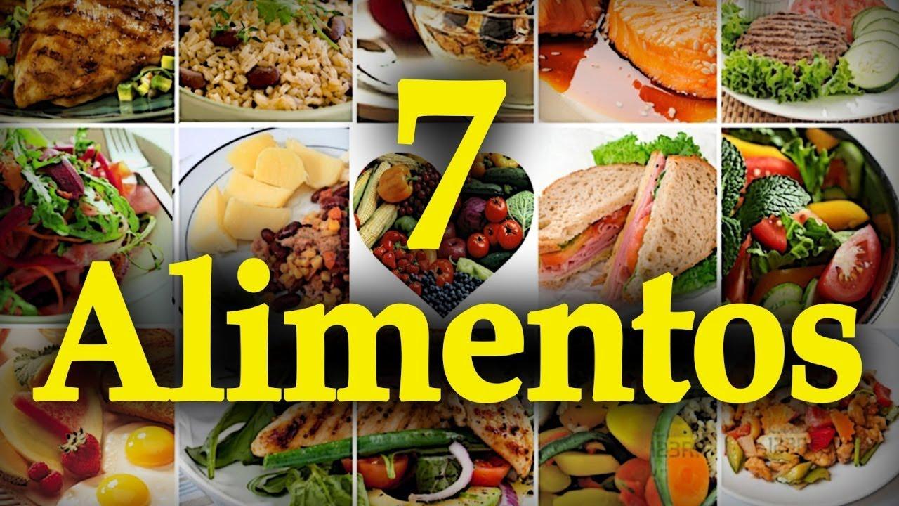 LOS 7 ALIMENTOS CON MÁS PROTEÍNA - alimentacion sana