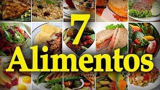 LOS 7 ALIMENTOS CON MÁS PROTEÍNA - alimentacion sana, dieta proteínas