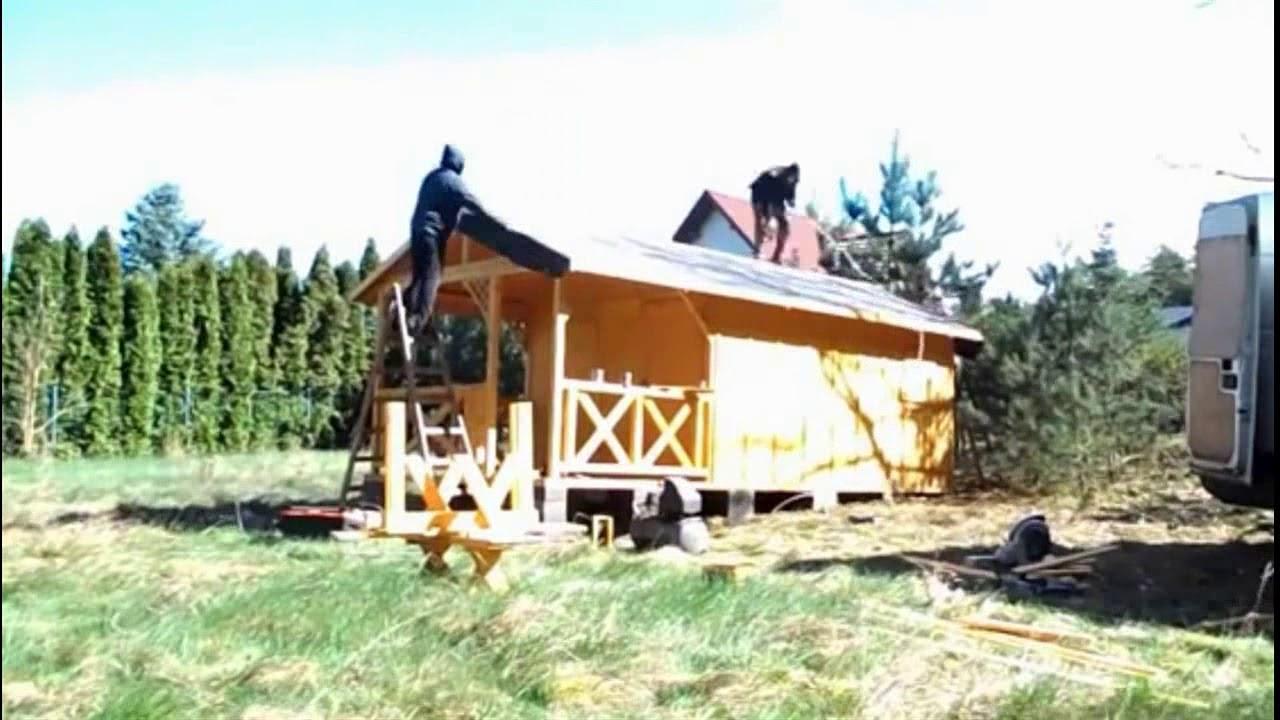 Construcci n r pida de mini casa de madera youtube - Mini casas de madera ...