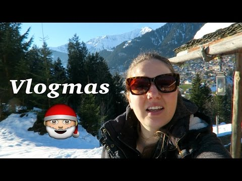 Our Cabin in the Swiss Alps! #Vlogmas