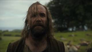 Hound finds Brother Ray hanging - Game of Thrones S06E07