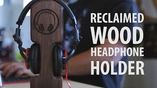 Reclaimed Wood Headphone Holder