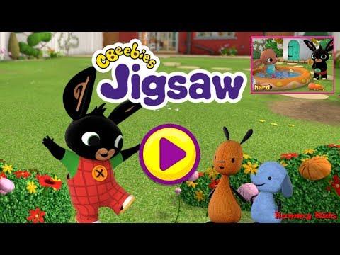 Bing Jigsaw Game Hard Gameplay For Kids