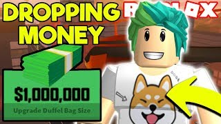 🔴ROBLOX DROPPING JAILBREAK CASH$$$ COME FOLLOW ME! NEW JAILBREAK UPDATE! | Roblox LIVE STREAM!