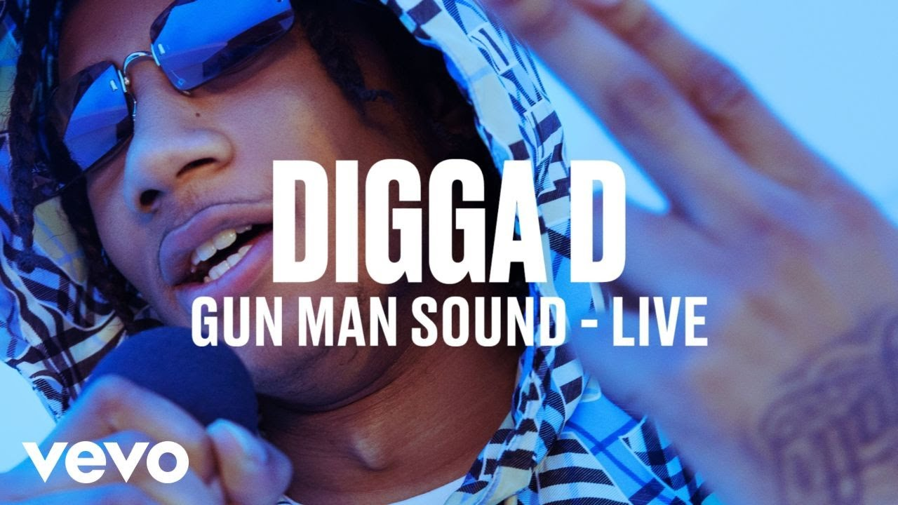 Digga D - Gun Man Sound (Live) | Vevo DSCVR