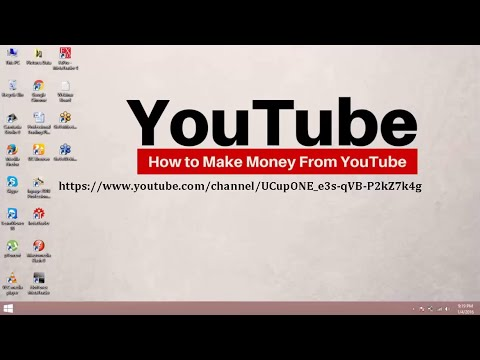 how to earn money on youtube hindi part 1 (by Earning Learning Lesson) in pakistan