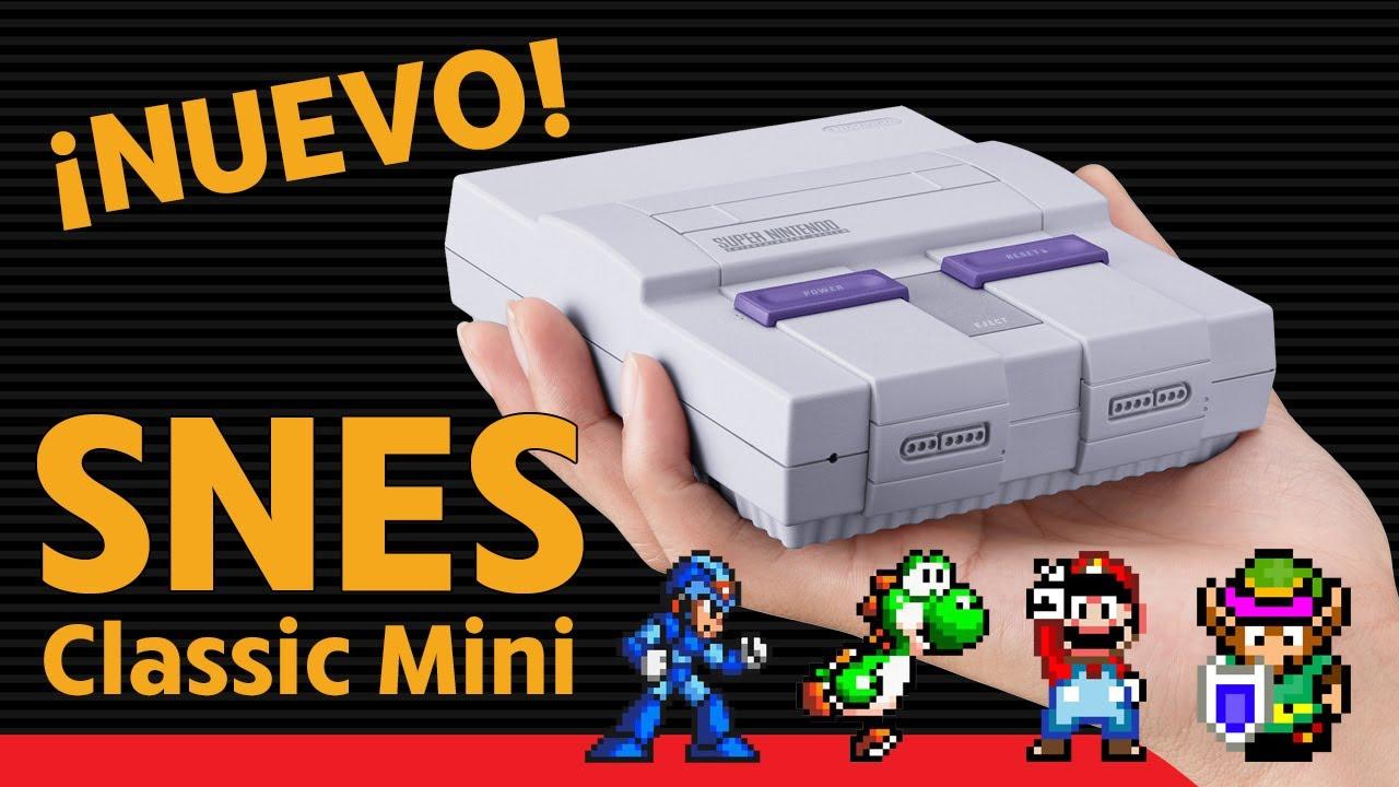 Snes Classic Mini Juegos Opinion Super Nintendo Espanol