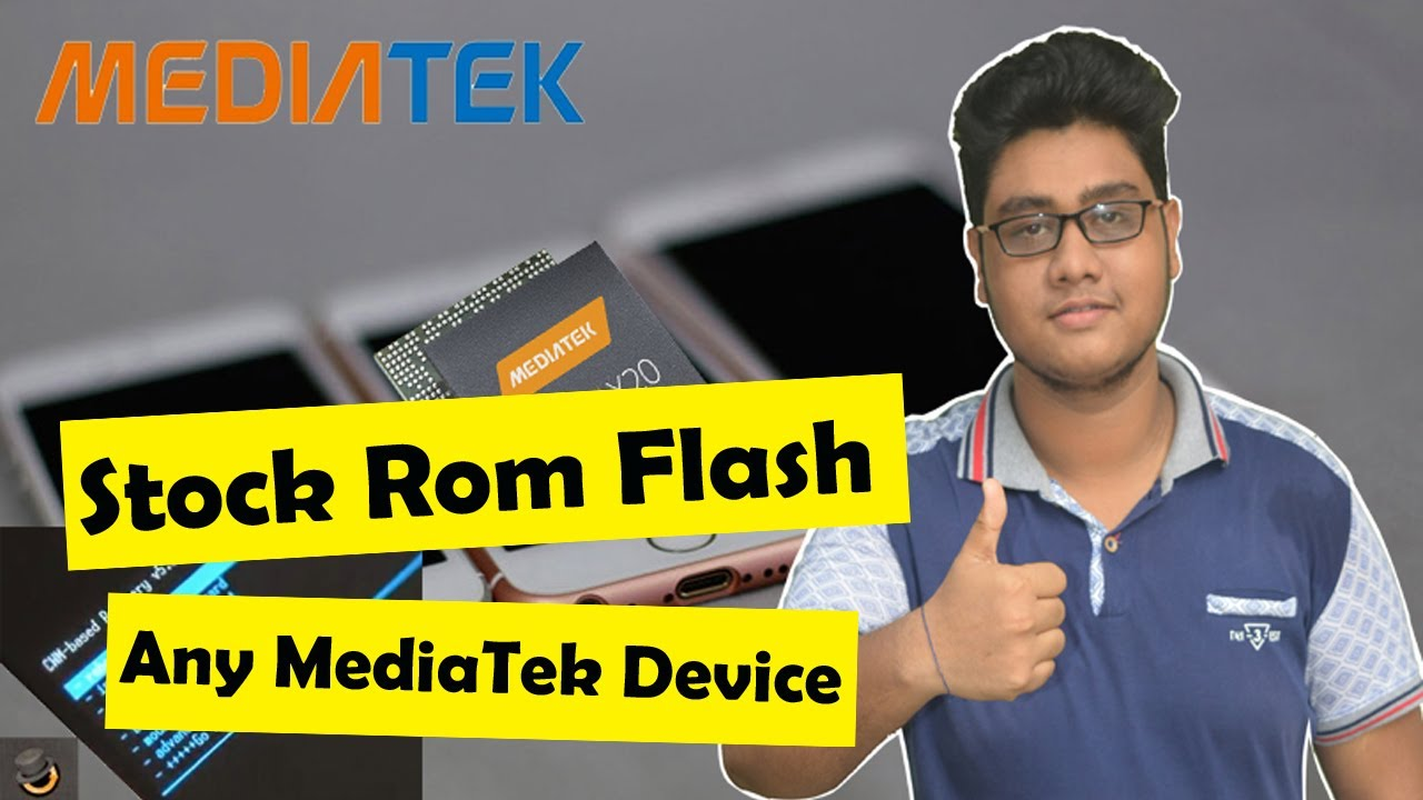 How To Flash Stock Rom On Any MTK Device