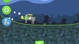 Bad Piggies Flight in the Night Level 4-14 Walkthrough 3 Star