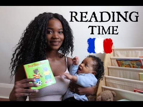 MY BILINGUAL BABY - LET'S READ A FRENCH BOOK!