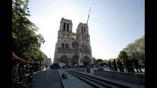 Notre Dame: 'Way of the Cross' ritual around the Cathedral