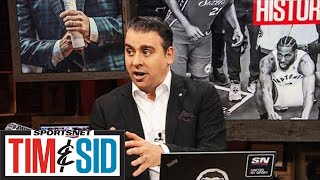 Picture Of Kawhi Leonard's Shot Tells Story Of Game 7 Win | Tim and Sid