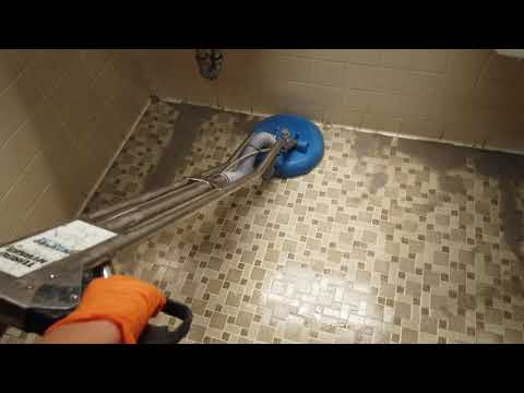 Satisfying tile and grout cleaning