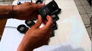 Unboxing pacote mega 10 canhões sequencial ELED