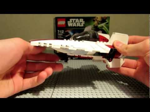 Lego Star Wars 75003 A-Wing Starfighter Review