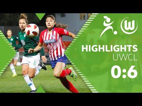 Atletico Madrid - VfL Wolfsburg Frauen 0:6 | Highlights | UEFA Women's Champions League