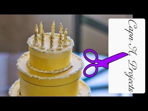 Handmade Birthday Gift For Friends Surprise Gift Box Birthday Cake