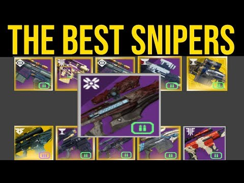 These Are The Best Snipers In Destiny 2