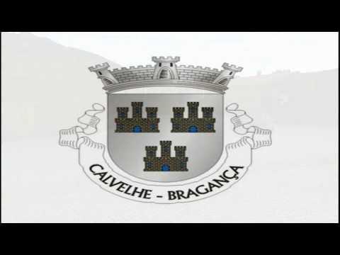 Visita aérea de Calvelhe - Bragança