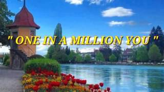 ONE IN A MILLION YOU with Lyrics By:Larry Graham