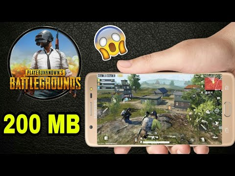 PUBG HIGHLY COMPRESSED [200MB] ANDROID DOWNLOAD ENGLISH VERSION